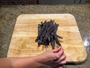 Try some beef jerky