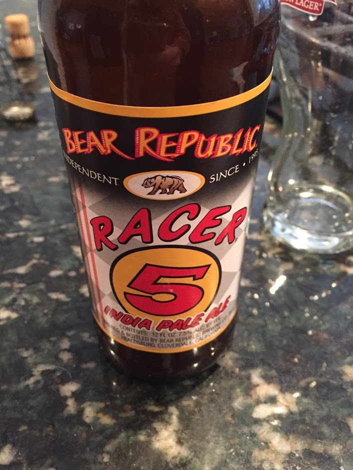 How long to cook Bear Republic Racer Five IPA?