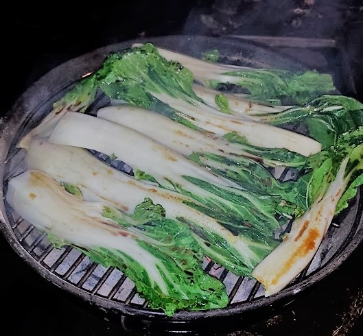 How To Grill Bok Choy