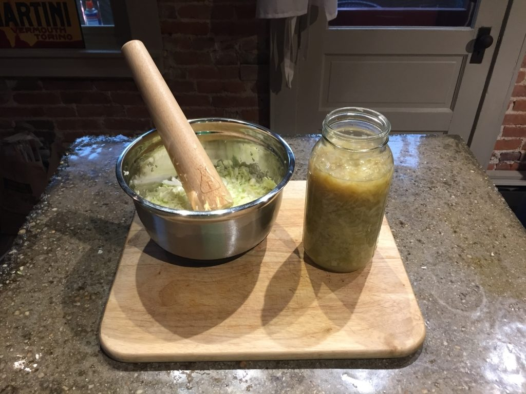 Making-Sauerkraut-With-A-Sauerkraut-Masher