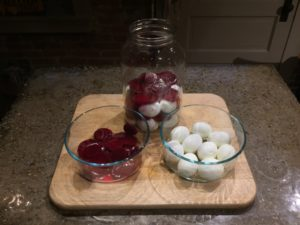 Pickled Eggs And Beets