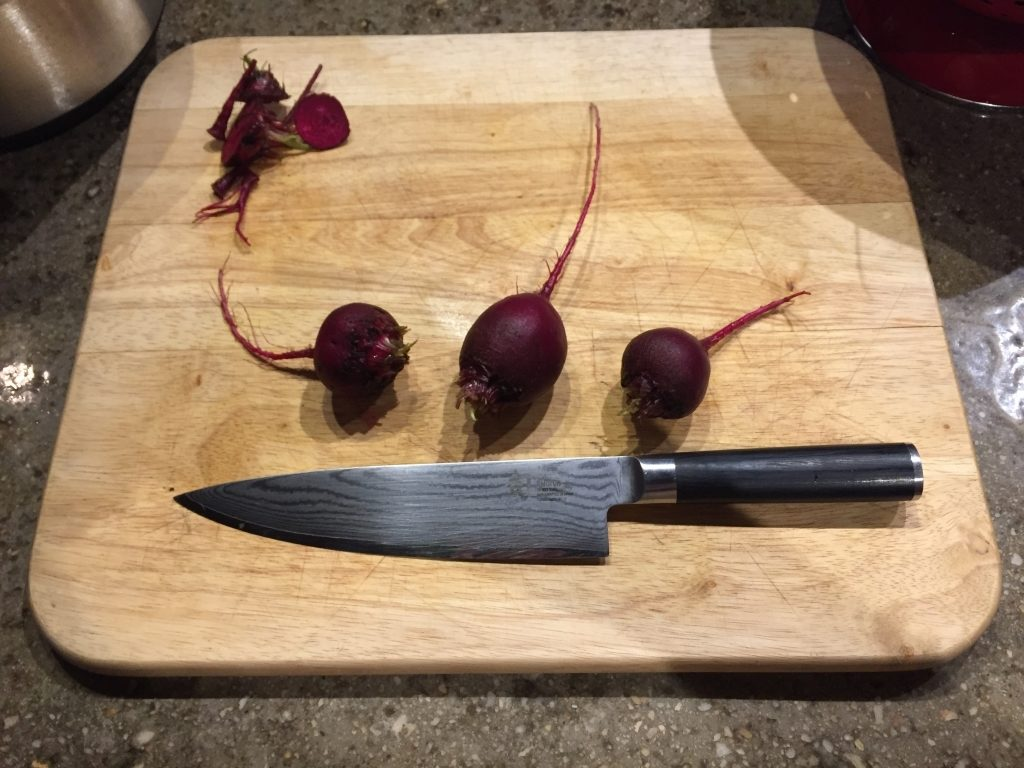 Prepare Beets For Slicing